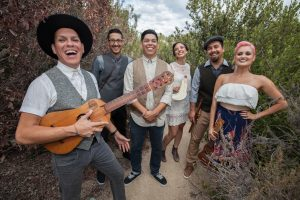 Las Cafeteras is one of two Mexican-American bands to perform at BlackRock Center for the Arts as part of the globalFEST On the Road tour.