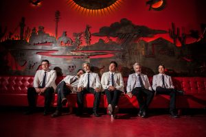 Orkestra Mendoza's music is Latin-based, but members consider themselves a rock and roll band.