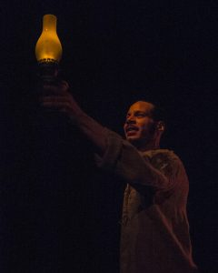 See the light: Jon Hudson Odom as the rebellious slave Nat Turner.