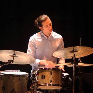 Ele Rubenstein is the drummer for the Chris Barrick Quartet.