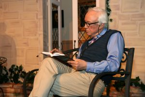 """Peter Harrold plays Reggie Paget in the British Players' production of """"Quartet."""""""