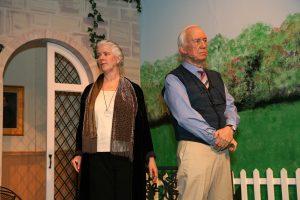 "Jill Vanderweit as Jean Horton and Peter Harrold as Reggie Paget in ""Quartet."""
