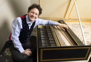 Harpsichordist Jory Vinikour will play the Down harpsichord at Capriccio Baroque's March 18 concert at Woodend in Chevy Chase.