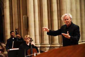Conductor Angel Gil-Ordóñez in action.