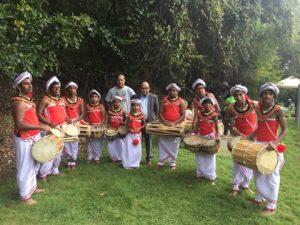 The Sri Lankan drum group, Bera, will showcase traditional Sri Lankan drum beats and dance at 3 p.m.