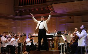 Maestro Keith Lockhart will lead the Boston Pops in two concerts on Sunday, April 8.