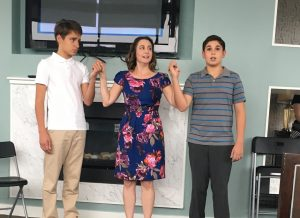 """A scene from PMTC's production of Neil Simon's """"Lost in Yonkers."""""""