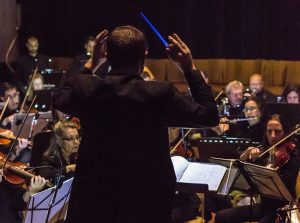 Conductor Jeffrey Dokken brings 50 musicians from the Symphony Orchestra of Northern Virginia for Star Wars in Concert at the Arts Barn on Saturday, May 5.