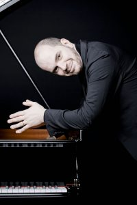 Russian-born pianist Kirill Gerstein will demonstrate his affinity for George Gershwin when he plays the solo of the popular early 20th century American composer's Piano Concerto in F.