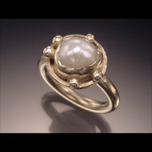 Artisan jewelry like this ring by Courtney Gillen can be found at the juried A-RTS at Rockville Town Square festival.