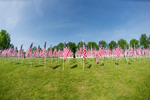 Flags for Our Heroes will be part of Gaithersburg's Memorial Day celebrations.