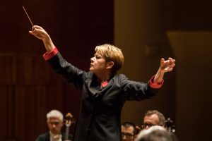 Maestra Marin Alsop, music director, will lead the Baltimore Symphony Orchestra's May 31 concert at The Music Center at Strathmore.