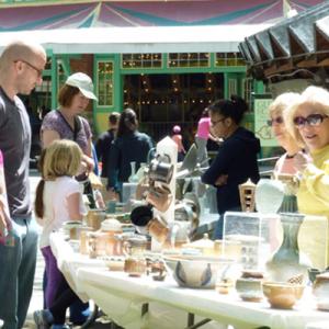 Glen Echo Pottery Gallery Folk Festival Special Sa...
