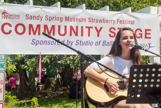 Kate Keeley, Sandy Spring Museum Marketing Director Susan Keeley's daughter, will perform at the festival again.