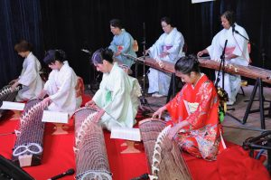Members of the Washington Toho Koto Society will perform at the Washington Folk Festival.
