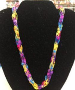 Fingerknit Your Own Ladder Necklace