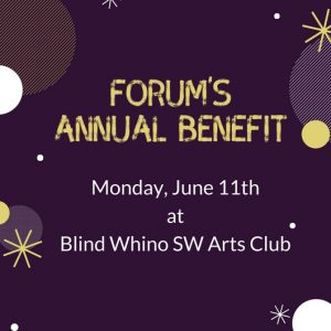 Forum Theatre's Annual Benefit