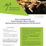 Montgomery Philharmonic Youth Chamber Music Festival