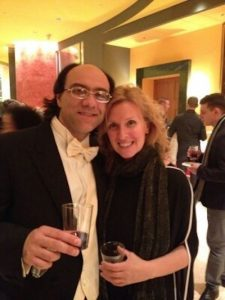 Power couple: Maestro Simeone Tartaglione and violinist Alessandra Cuffaro will perform a free concert on the lawn of the Kentlands Mansion at 7 p.m. Saturday, June 23.
