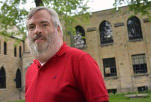 Playwright Dan Noonan in Evanston, Illinois.