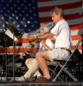Musician from last year's Rockville Independence Day Celebration.