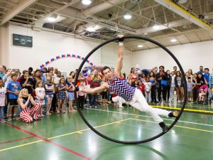 Indoor fun (and air conditioning) will be available at Gaithersburg's SummerFest on Saturday, June 30.