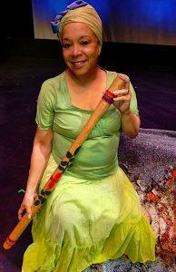 Creole storyteller Judy Leak