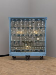 """Le Défi"" (1994) by Louise Bourgeois is said to symbolize the artist's archived memories."