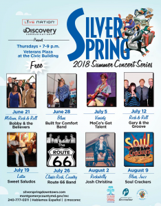 Silver Spring Summer Concert Series