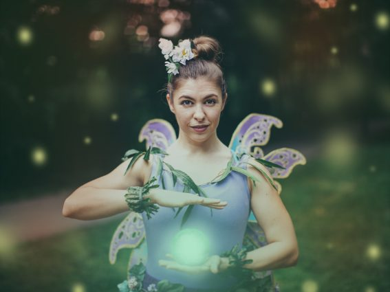 "Michelle Polera has the title role in ""Tinker Bell."""