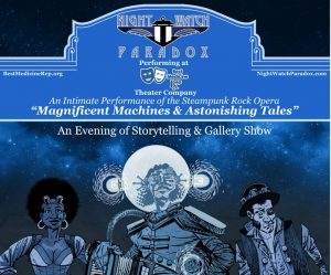 Night Watch Paradox: Magnificent Machines & Astonishing Tales