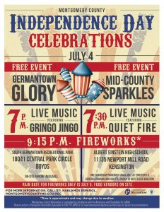 Independence Day Celebrations in Germantown and Kensington.