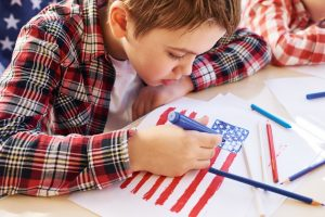 Family Play Day Workshop: Red, White, and Blue