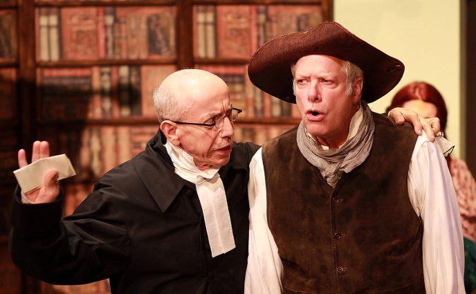 John Decker (Reverend Quince) and John Allnutt (Phin).