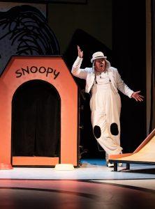 Joe Mallon as Snoopy.