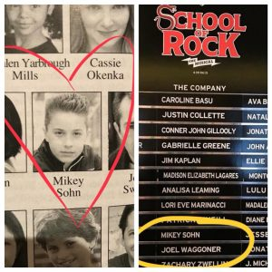 "Mikey Sohn in ""School of Rock."""