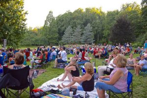 Brookside Gardens' lawn will provide the space for screening Jeff Krulik's documentary and the Q&A that will follow.