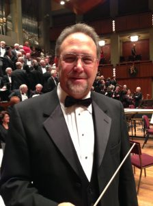 "Joseph Sorge conducted portions of ""The Messiah"" holiday singalong at the Kennedy Center for the Performing Arts."