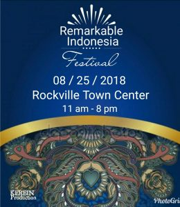 Remarkable Indonesia Festival 2018