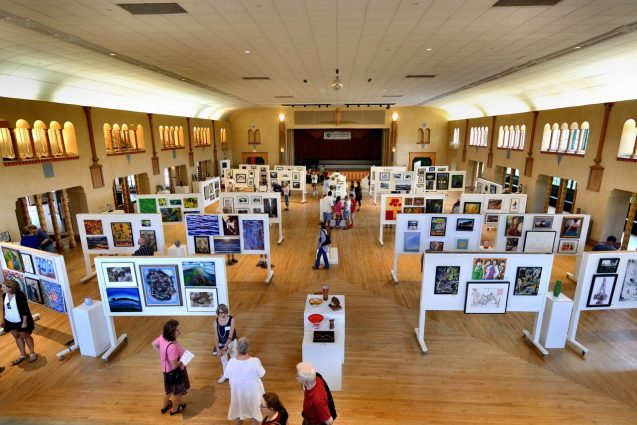 Glen Echo Park's 48th Annual Labor Day Art Show will feature more than 600 works by 200-plus artists throughout Labor Day weekend in the park's Spanish Ballroom.
