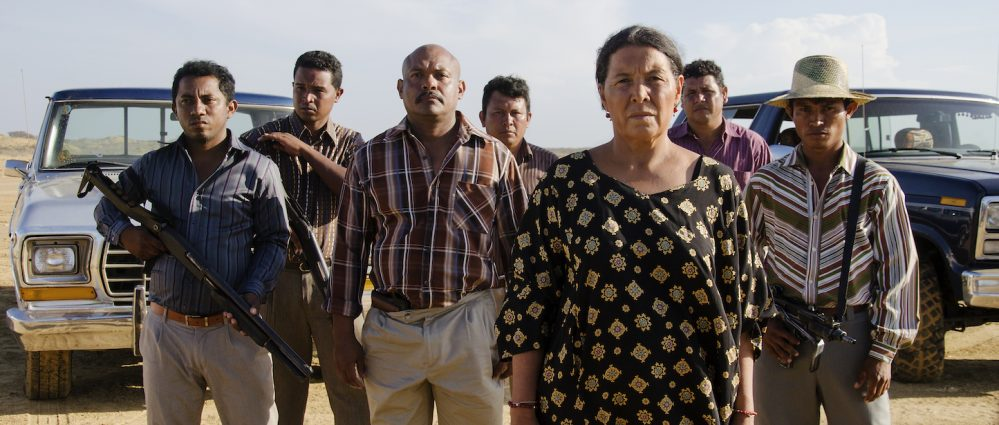"""The opening film for the 2018 Latin American Film Festival is the U.S. premiere of """"Birds of Passage,"""" the first fictional film production shot in the Wayuunaiki language, spoken by the Wayuu people on the Guajira Peninsula in northeastern Colombia and northwestern Venezuela."""