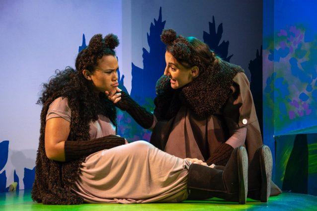 Alex De Bard plays Little Bear and Karen Vincent is Mama Bear.