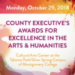 2018 County Executive's Awards for Excellence in the Arts & Humanities