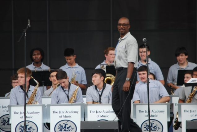 Paul Carr's Jazz Academy of Music students have been taking part in the Silver Spring Jazz Festival since 2005.