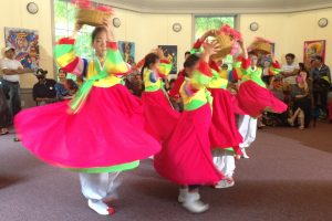 Students from the Peace Mission Korean Dance Group will perform on Korean Culture Day, Saturday, Sept. 23, at the Sandy Spring Museum.