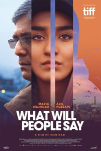 """What Will People Say"" will be screened at 2 p.m. Saturday, Sept. 8, in the Parilla Performing Arts Center on the Montgomery College-Rockville campus."