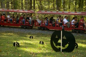 Halloween Eye Spy Trains will take riders through Trainsylvania at Cabin John and Wheaton regional parks.