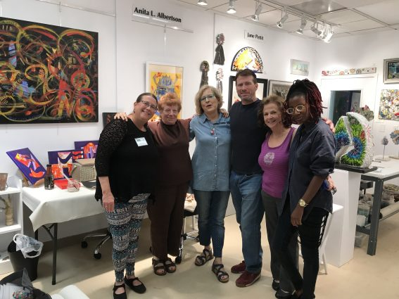 Resident Artists & Makers Studios artists look forward to meeting the public at First Friday and Open Studio events.