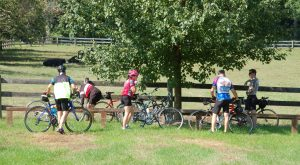 Cyclists in the Agricultural Reserve enjoy its protected Rustic Roads and Scenic Byways.