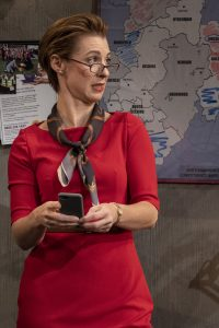 "Anglophile Julia Coffey portrays Jean Whittaker in James Graham's ""Labour of Love."""